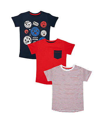 Totally Awesome T-Shirts - 3 Pack