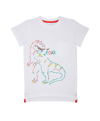 Mothercare Dot-To-Dot Dinosaur T-Shirt