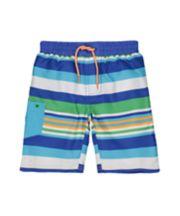 Striped Boardshorts