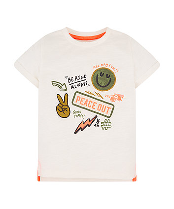 Mothercare Peace Out T-Shirt