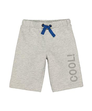 Mothercare Cool Grey Shorts