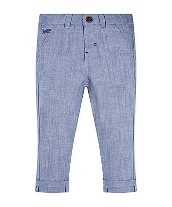 Mothercare Chambray Trousers
