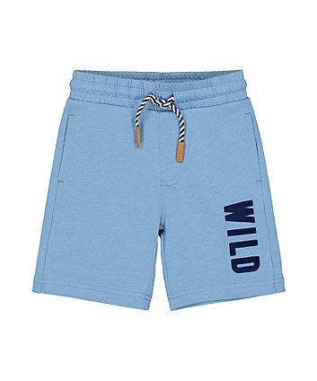 Blue Wild Shorts
