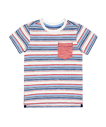 Mothercare Multicoloured Stripe T-Shirt