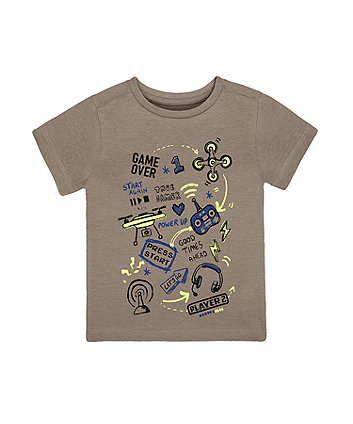 Mothercare Grey Games T-Shirt