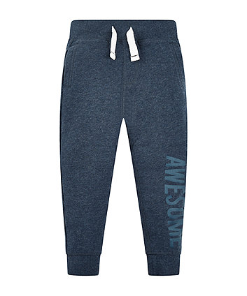 Mothercare Navy Awesome Joggers