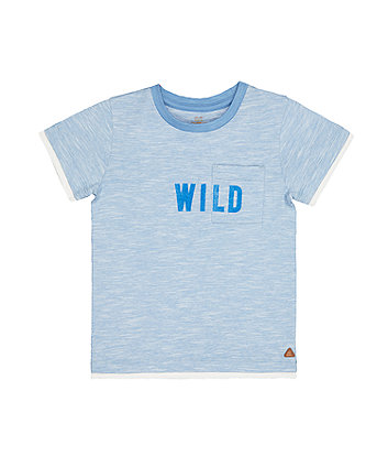 Mothercare Wild Striped T-Shirt
