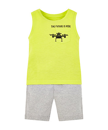 Mothercare Future Is Here Vest And Shorts Set