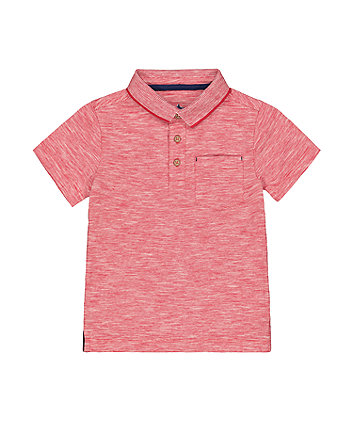 MOTHERCARE JB BH RED EOE POLO TEE