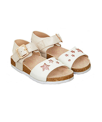 Star Footbed Sandals