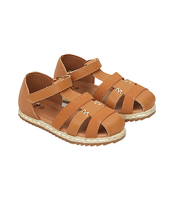 Tan Fisherman Sandals