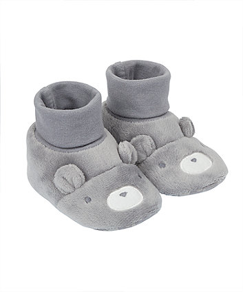 Mothercare Novelty Bear Socktop Booties