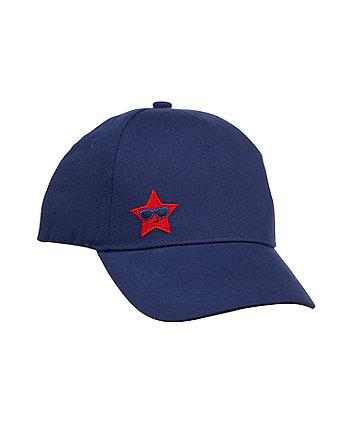 Mothercare Navy Star Cap
