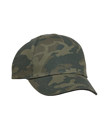 Mothercare Back To Nursery Camouflage Cap