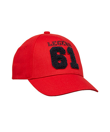 Back To Nursery Red 61 Cap