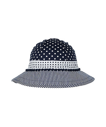 Mothercare Multi-Spot Fisherman Sun Hat