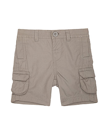 Mothercare Grey Cargo Shorts