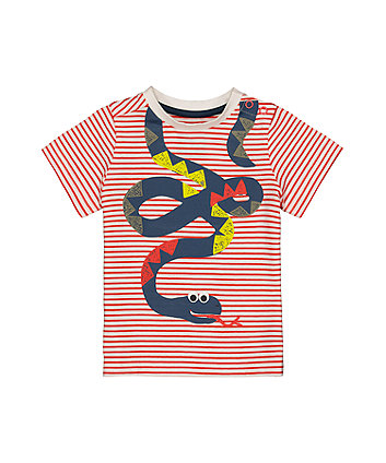 Stripe Snake T-Shirt
