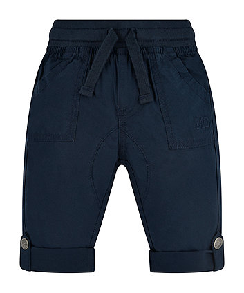 Navy Convertible Trousers