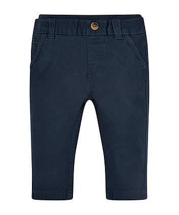 Mothercare Navy Chino Trousers