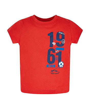 Mothercare Red Sports T-Shirt