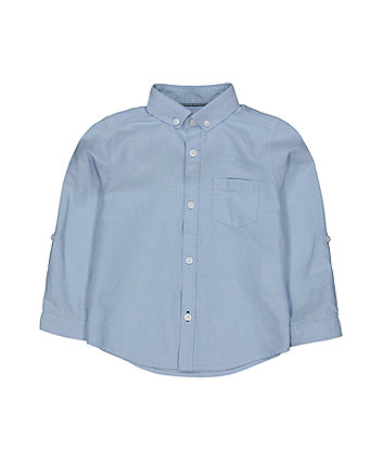Mothercare Blue Oxford Shirt