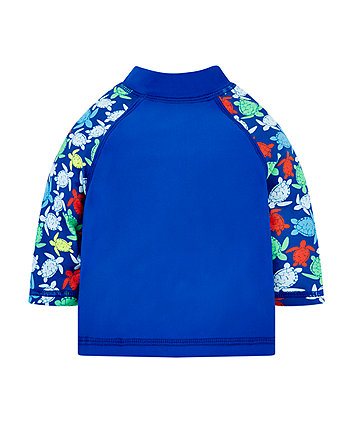 Blue Turtle Rash Vest