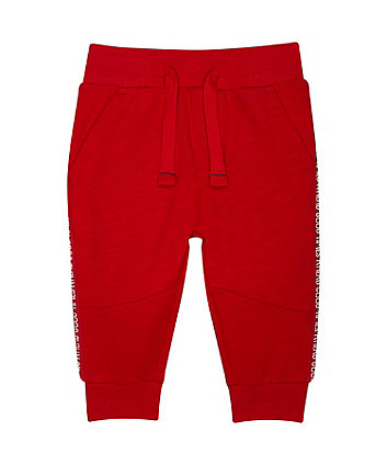 Mothercare Red Good Time Joggers