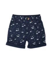 Navy Sailing Boat Shorts