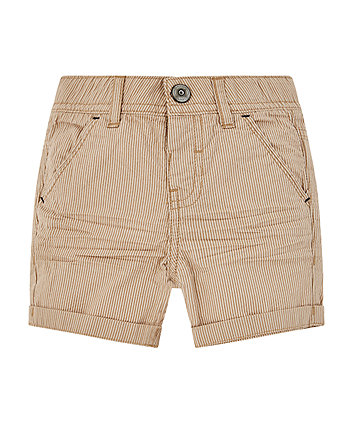 Stone Striped Chino Shorts