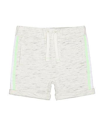 Mothercare Grey Stripe Shorts