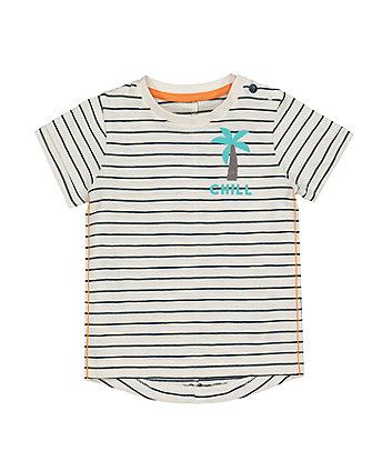 Stripe Chill Palm Tree T-Shirt
