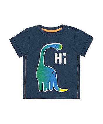 Navy Hi Dinosaur T-Shirt