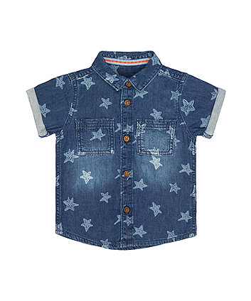 Mothercare Blue Star Shirt