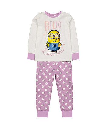 Mothercare Minion Pyjamas