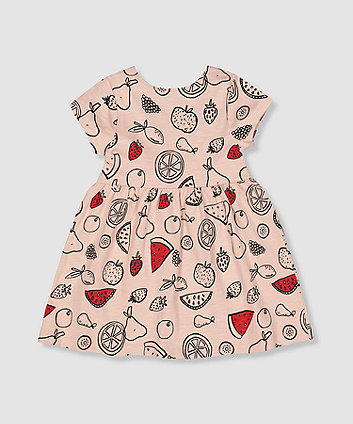 Mothercare My K Pink Fruit Dress