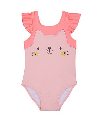 Pink Cat Swimsuit