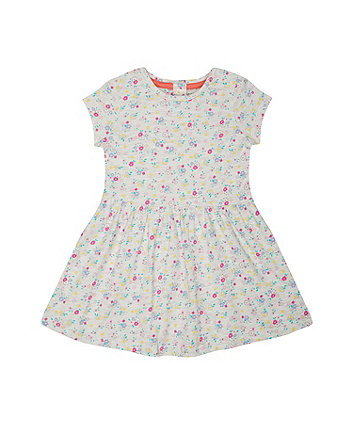Mothercare Grey Floral Dress