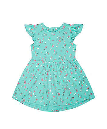 Mothercare Turquoise Butterfly Dress
