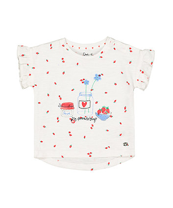 Mothercare Strawberry My Favourite Things T-Shirt