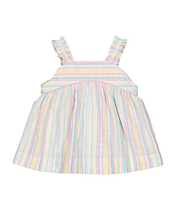 Mothercare Multicoloured Stripe Blouse