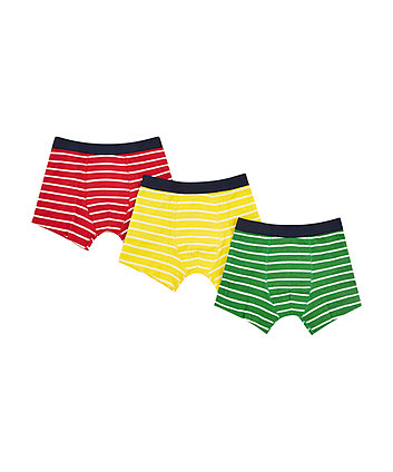Mothercare Stripey Trunks - 3 Pack