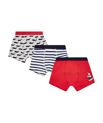 Mothercare Whale Trunks - 3 Pack