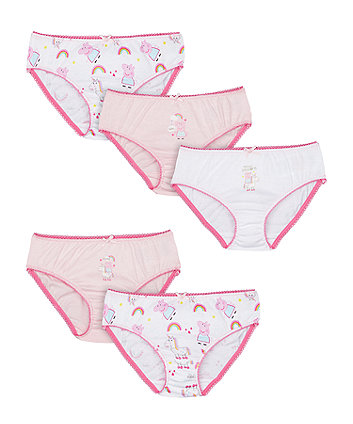 Mothercare Peppa Pig Briefs - 5 Pack