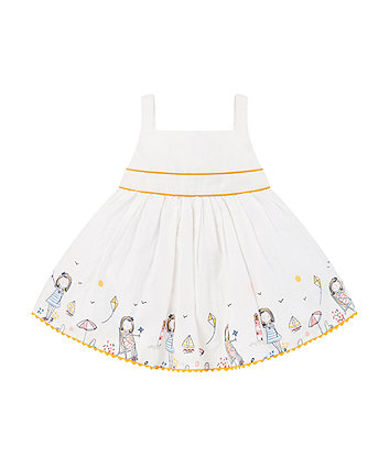 Mothercare White Seaside Prom Dress