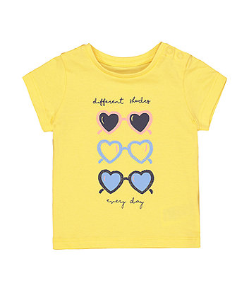 Yellow Sunglasses T-Shirt