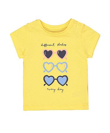 Yellow Sunglasses T-Shirt