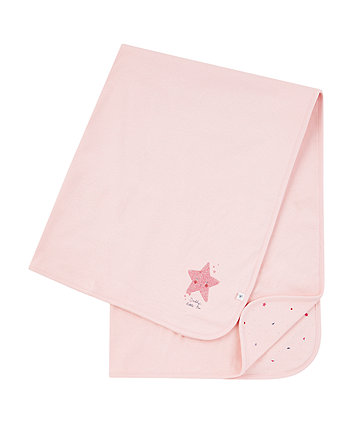 Pink DaddyS Little Star Shawl