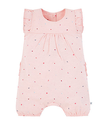 Mothercare Pink Seaside Romper