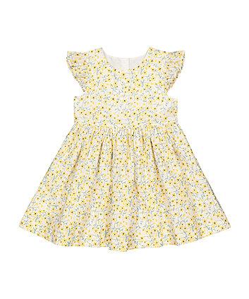 Mothercare Floral Poplin Dress